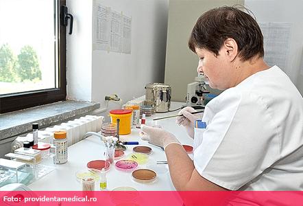laborator pentru boli parazitare)